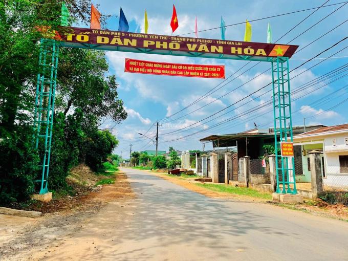 Bán đất nông nghiệp phường Yên Thế gần Biển Hồ giá rẻ 35 triệu/m ngang ảnh 0