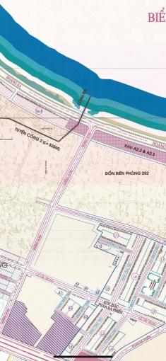 Bán 1 cặp đất mặt tiền biển đường Hoàng Sa rất đẹp, với bề ngang 10m và sau nhà có kiệt 5m giá rẻ ảnh 0