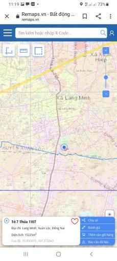 Bán đất Xuân Đông, 1,1 mẫu, cách TL 765 50m, 200m mặt tiền đường bê tông, giá đầu tư ảnh 0