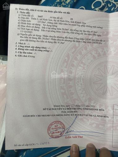 Bán đất tặng nhà ngay chợ Ninh Sơn - Ninh Hòa chỉ 390tr, LH 0899486183 ảnh 0
