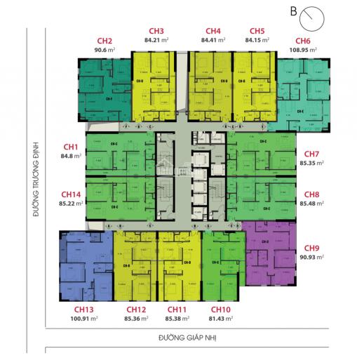 Bán căn số 06 chung cư Viễn Đông Star số 1 Giáp Nhị giá 26tr/m2 full nội thất, LH 0983119891 ảnh 0