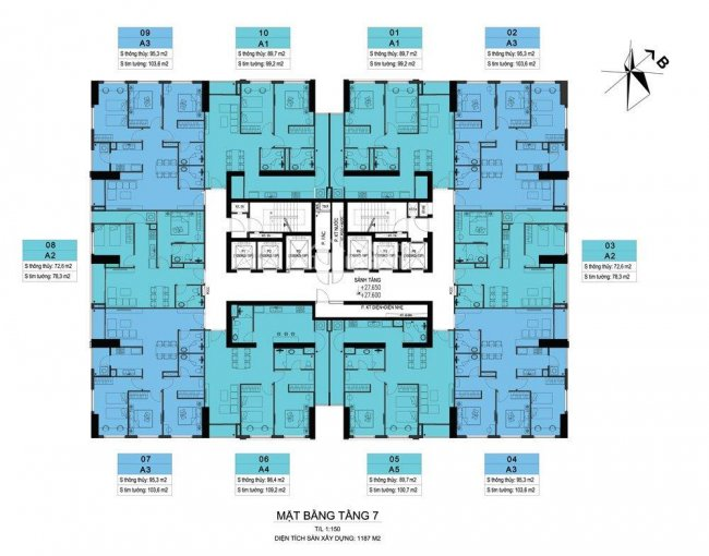 Cơ hội sở hữu căn góc 3PN, 2wc, 95.3m2 giá tốt nhất dự án Ariyana Lakeside Văn Quán ảnh 0