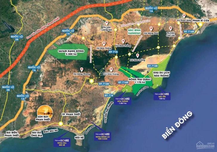 Cơ hội đầu tư đất Bình Thuận với giá 800 triệu/ 1 mẫu. Lh 0934501939 ảnh 0