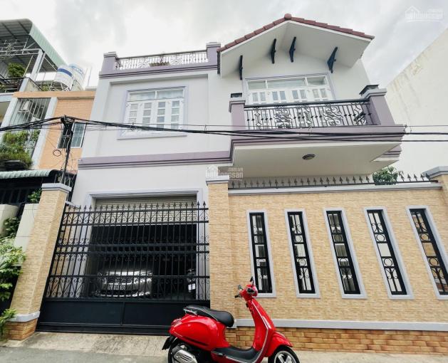Nhà mới 1T2L, có gra ôtô, trung tâm Đường 8, Linh Xuân, Thủ Đức. DT 175m2 ngang 12m, tặng nội thất ảnh 0