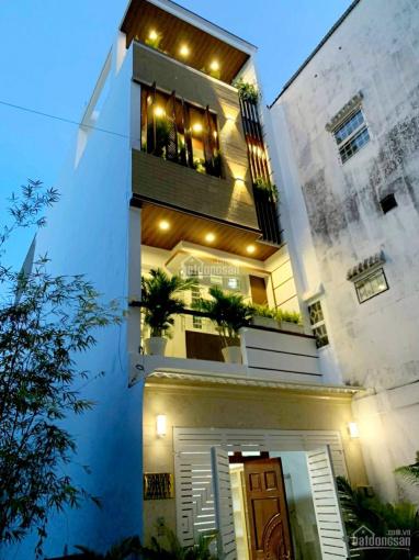 Bán gấp nhà mới Nguyễn Văn Lượng, P16 (4.5x18m)5 lầu giá chỉ còn 9.3 tỷ, LH 0984328775 ảnh 0