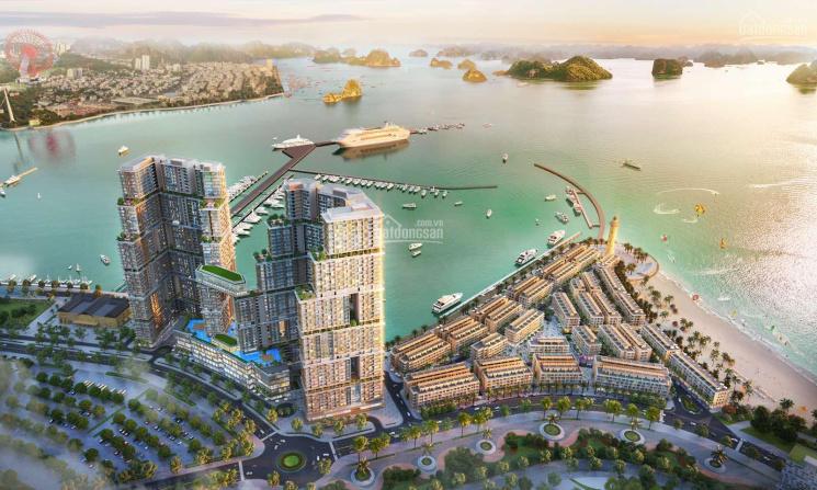 Duy nhất 2 căn shophouse ngoại giao mặt cảng & bến du thuyền 5* vịnh di sản Hạ Long Sun Marina ảnh 0