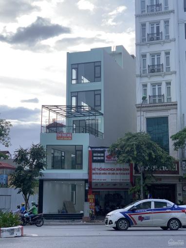 Cho thuê nhà mặt phố Trần Duy Hưng - Cầu Giấy 125m2 * 6T, MT 5.5m, thông sàn, thang máy. Giá 70tr ảnh 0