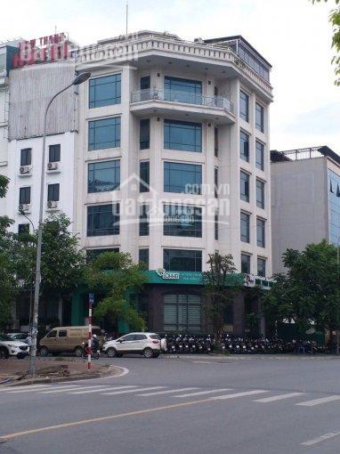 Cho thuê toà VP mặt phố tại Trung Hoà, Cầu Giấy DT 170m2, 8 tầng lô góc - LH 0988969264 ảnh 0