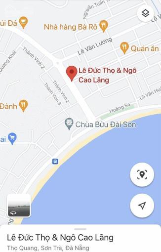 Cơ hội sở hữu lô đất vàng 2 mặt tiền đường Lê Đức Thọ và Ngô Cao Lãng, phường Thọ Quang, Sơn Trà ảnh 0