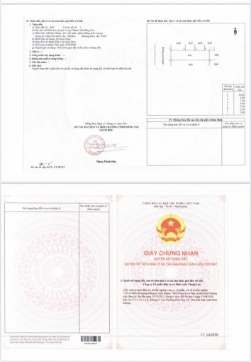 Đất nền dự án quy hoạch Sân Bay Long Thành, giá chỉ 1,9 tỷ/100m2, sổ đỏ riêng, hỗ trợ TT 12 tháng