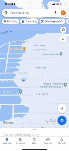 Bán đất đường 29 tháng 3 thuộc đảo vip (đường Hàng Dừa) 125m2 Đông Nam giá rẻ, Hoà Xuân ảnh 0