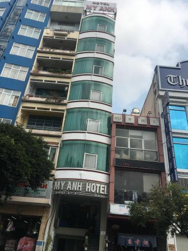 Bán nhà mặt tiền Lê Lai, Bến Thành, Quận 1, 4x15m, 56m2, trệt, lửng, 4 lầu, HD thuê 80tr/th ảnh 0