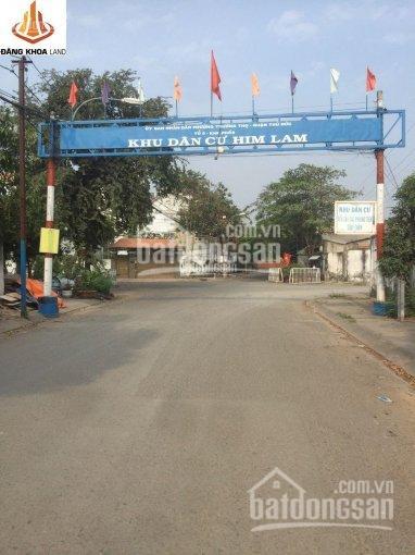 Bán đất biệt thự khu VIP Him Lam Trường Thọ, Thành Phố Thủ Đức giá cực tốt chỉ 160tr/m2 ảnh 0