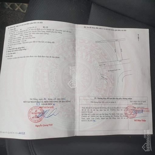 Trục chính Hoà Sơn 6 đường 7.5m đối diện chợ giá 1.9 tỷ, LH 0905.556.909 ảnh 0