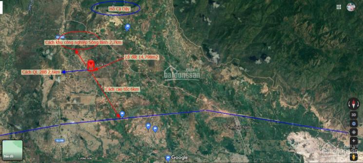 Sang lại lô đất 14,798m2 giá chỉ 70.000/m2, SĐR, LH: 0973255601 ảnh 0