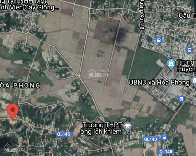 Bán đất MT Quốc lộ 14G, xã Hoà Phong, huyện Hoà Vang, Đà Nẵng. Đất ở hoàn toàn ảnh 0
