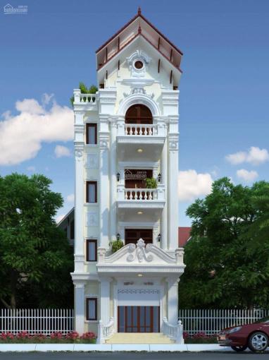 Chính chủ cần bán mặt phố Khúc Thừa Dụ, Trần Đăng Ninh đường mới. DT 65m2 MT 5.55m x 8T cầu thang ảnh 0
