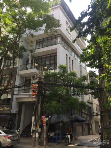 Cho thuê nhà Nguyễn Ngọc Vũ DT 85m2 x 5T, MT 6m giá 28tr nhà đẹp tiện làm VP. LH 0963506523 ảnh 0