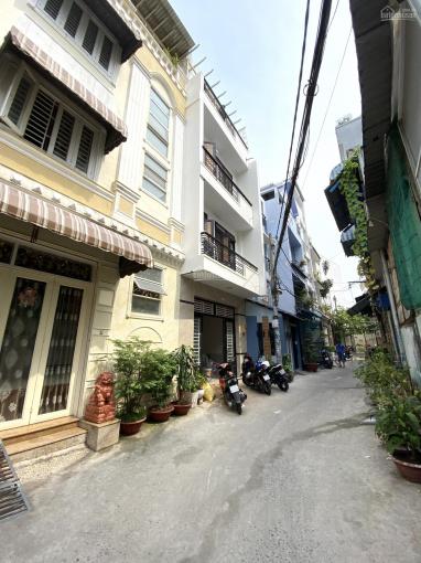 Bán nhanh nhà HXH Chu Văn An, 4.72x10m, 1 trệt 3 lầu sân thượng ảnh 0