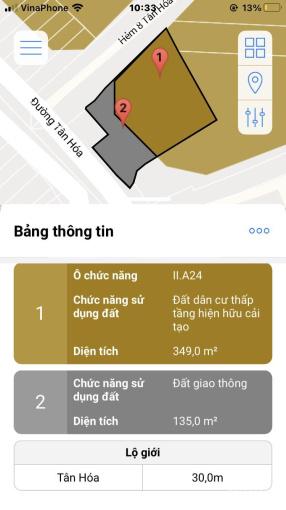 Nhà bán góc 2MT Tân Hóa, P1, Q11 (hẻm hông 12m). Giá: 16,5 tỷ (bớt lộc) ảnh 0
