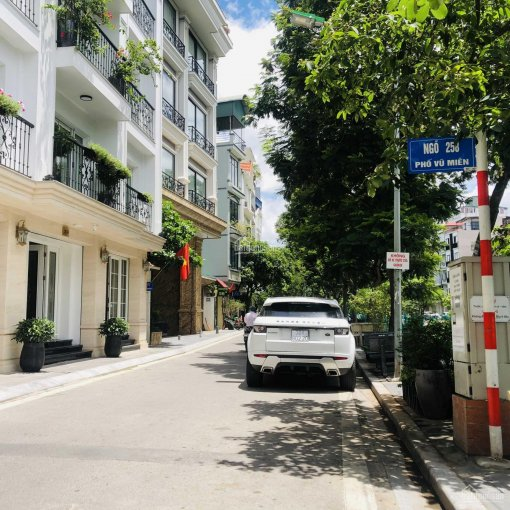 Bán nhà riêng 4 tầng, diện tích 85m2, MT 4.6m mặt hồ mặt phố Vũ Miện, làng Yên Phụ, Tây Hồ, Hà Nội ảnh 0