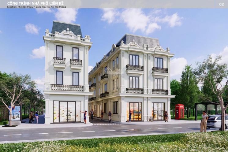 Bán nhà 4 tầng xây mới, ô tô vào tận nơi ngay sau lô 9 Lê Hồng Phong (chợ Lũng) Hải Phòng ảnh 0