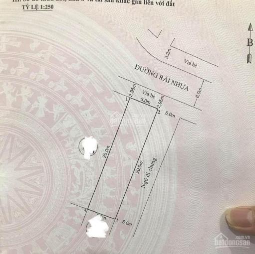 Bán lô góc 100m2 phân lô sau quận ủy Hồng Bàng, ĐB và ĐN, đoạn ngay trục vườn hoa, 0962444593 ảnh 0