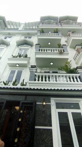 Cho thuê nhà mới xây HXT 8m Phạm Văn Chiêu, P. 14, Gò Vấp 1 lửng 3 lầu ảnh 0