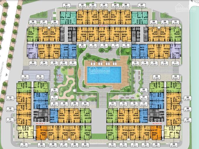 Chính chủ gửi căn 2PN tầng 11 giá tốt nhất thị trường 2,8 tỷ, thanh toán nhận nhà cuối T9.2021 ảnh 0