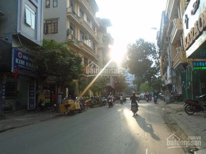 Nhà mặt phố Chùa Láng 90m2, MT 4m, vỉa hè kinh doanh 17.6 tỷ, 0906286669 ảnh 0