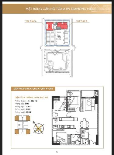 Nhận đặt chỗ tổ hợp TMDV và căn hộ BV Diamond Hill (tháp đôi Bách Việt) - tổ hợp cao cấp bậc nhất ảnh 0