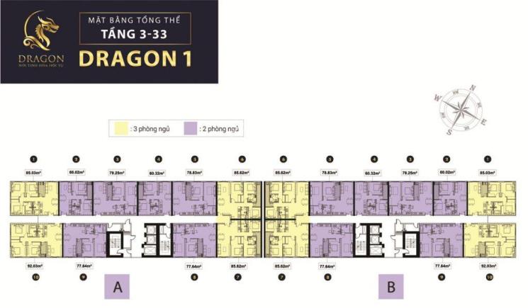 Bán căn hộ Topaz Elite block Dragon 1B đang giao nhà, 60m2 lầu cao. Giá: 2.5 tỷ - LH: 0908526075 ảnh 0