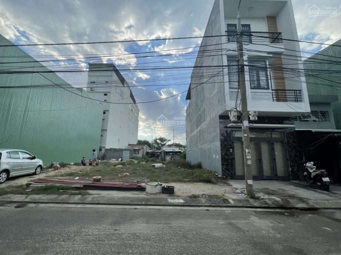 Đất mặt tiền đường Hòa Minh 1, đối lưng nhà mặt tiền chợ Trần Đình Tri, hướng Đông Nam sát biển ảnh 0