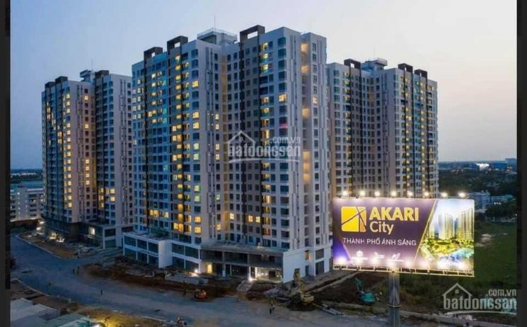 Tôi chính chủ kẹt tiền cần bán căn hộ Akari giai đoạn 1 giá rẻ (56m2 - 2.170 tỷ) -(75m2 - 2.660 tỷ) ảnh 0