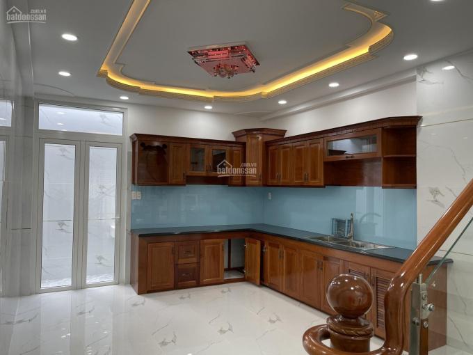 Nhà mới 4,5 tấm đồng bộ, hẻm đẹp dân trí nằm trên đường QL50 P5 Q8 sổ hồng cầm tay. LH 0908 187 558 ảnh 0