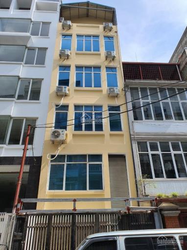 Cho thuê nhà MP Hoàng Ngân Cầu Giấy, 75m2 * 6 tầng, thông sàn, có thang máy, LH 0363312651 ảnh 0