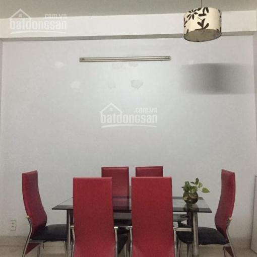 Nhà 3 tầng DTSD 300m2 3PN 3WC full nội thất, hẻm xe hơi KDC an ninh ảnh 0