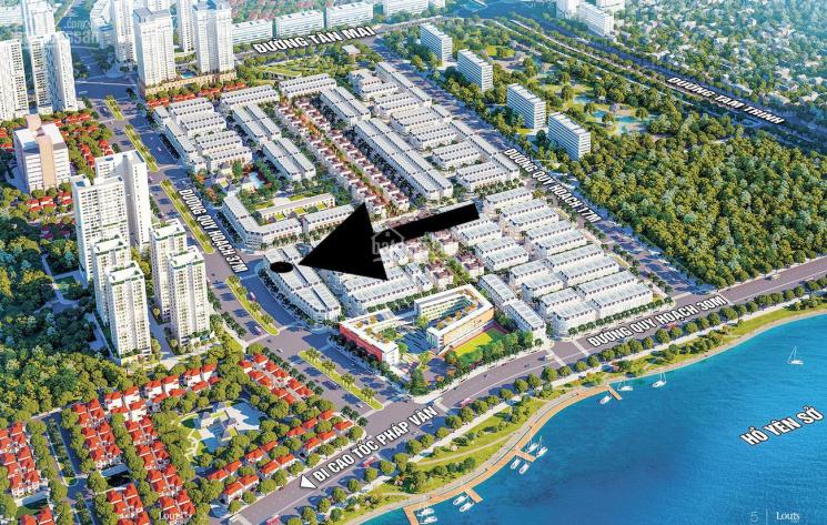 Bán căn đường 40m, đối diện chung cư MIK - dự án Louis Hoàng Mai. Căn góc 136.4m2, mặt tiền 6.5m ảnh 0