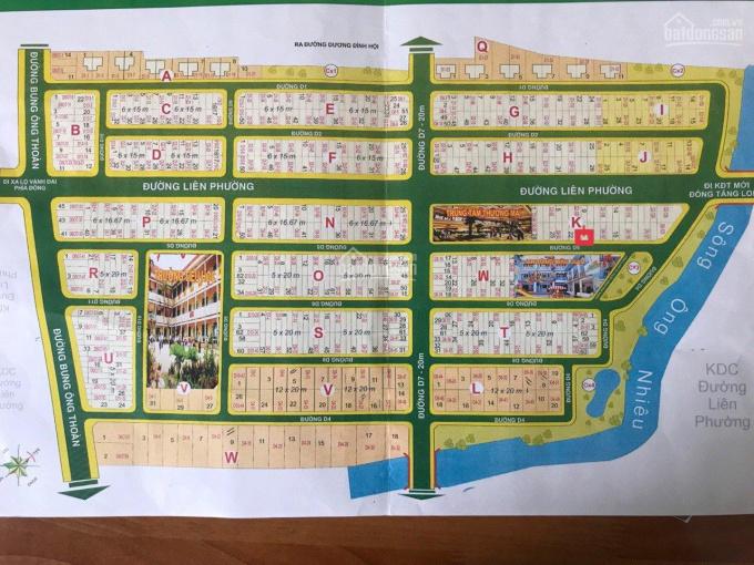 Kẹt tiền bán nhanh lô đất nền giá tốt nhất thị trường, DT 5x20m giá 65tr/m2, sổ đỏ sang tên ngay ảnh 0
