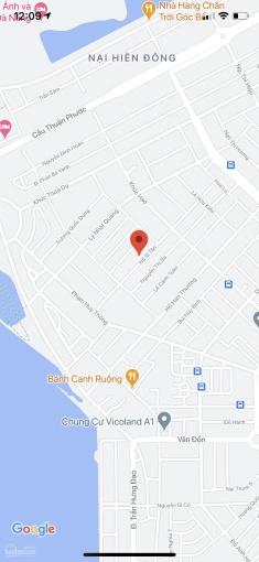 Bán lô đất mặt tiền đường Hồ Sĩ Tân, quận Sơn Trà. DT: 126m2, đường 7m5, gần Khúc Hạo, giá: 4,9 tỷ ảnh 0