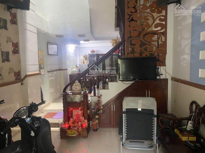 Bán nhà 3 lầu, hẻm xe hơi. DT (4 x 12.5m) đường Huỳnh Thiện Lộc, P. Hòa Thạnh, Q. Tân Phú ảnh 0