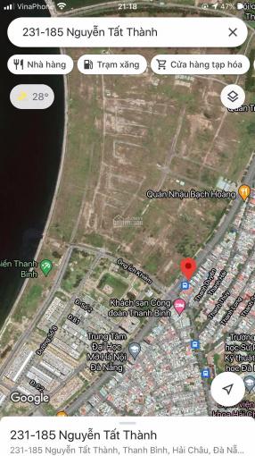 Chính chủ cần bán 2 lô đất liền kề đường biển Nguyễn Tất Thành - 0911190094 ảnh 0