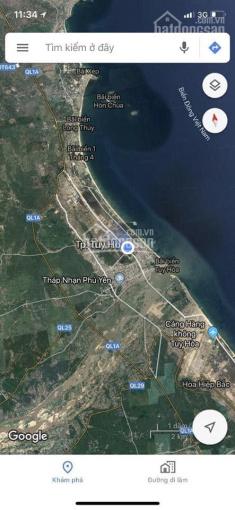 Bán lô đất nền sạch đẹp, sổ đỏ sẵn, ngay trung tâm TP. Tuy Hòa, Phú Yên giá rẻ hơn TT 500tr ảnh 0