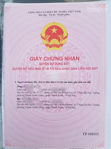 Chính chủ bán căn hộ chung cư Phú Gia ban công Đông Nam, giá 2.85 tỷ. LH 0969143618 (miễn TG) ảnh 0