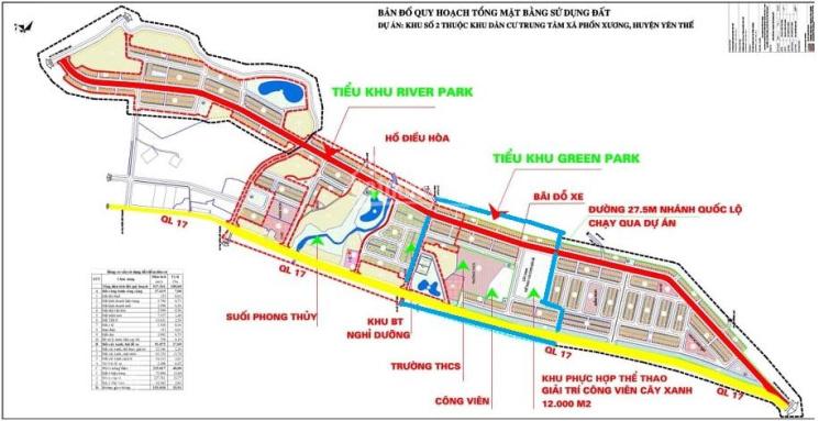 Mở bán 165 lô giai đoạn 1 dự án Phồn Xương Central Park Bắc Giang. Giá đầu tư ảnh 0