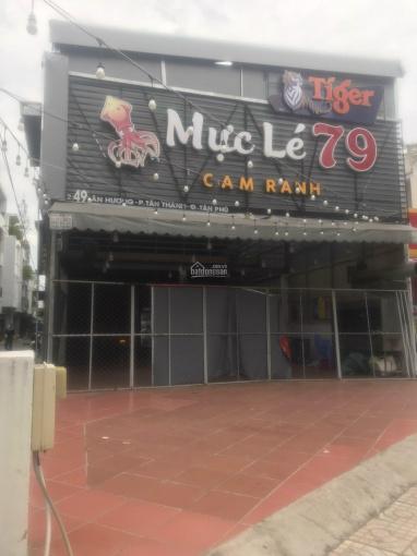 Cho thuê nhà căn góc ngang 8x25 mặt tiền kinh doanh đường Tân Hương ảnh 0
