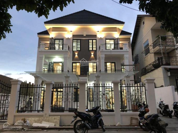 Cặp biệt thự song lập 493m2 đất thổ cư HXH ra Nguyễn Văn Linh chỉ 50m, full nội thất cao cấp ảnh 0
