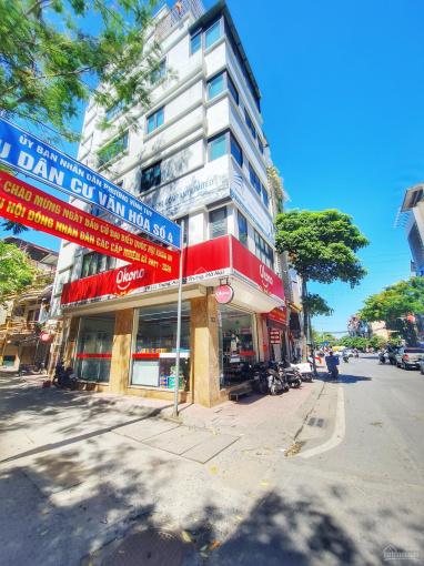 """""""Chính chủ"""" gửi bán toà nhà xây mới (lô góc 3MT) mặt phố lớn, ngay gần cầu Lạc Trung 90m2x7T, 28 tỷ ảnh 0"""