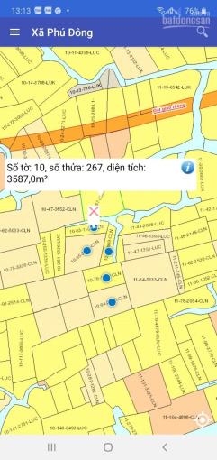 Bán đất vườn mặt sông lớn xã Phú Đông - Nhơn trạch - Đồng Nai. Giá 1,35 tỷ/1000m2 LH 0967567807 ảnh 0