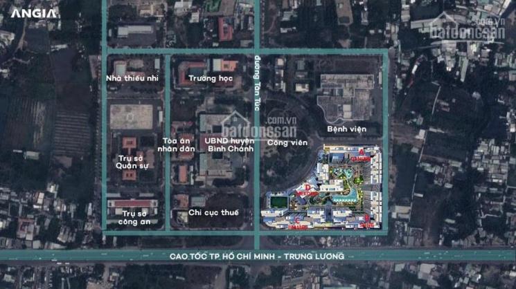 Bán shophouse khu hành chính đối diện UBND, thuế, bệnh viện,... Khu căn hộ hơn 2k căn, dân cư đông